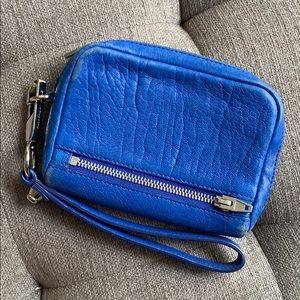 Alexander Wang Fumo wristlet wallet - Royal Blue
